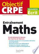 Objectif CRPE Entrainement En Maths   2017