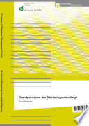 Grundprinzipien des Marketingcontrollings – Principles of Marketing Management Control