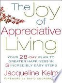 download ebook the joy of appreciative living pdf epub