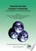 Greenhouse Gas Emission Inventories