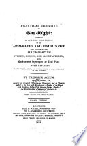 A Practical Treatise on Gas light