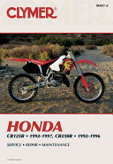 Honda Cr125r And Cr250r 1992 1997