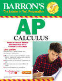 Barron s AP Calculus  14th edition