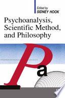 Psychoanalysis  Scientific Method  and Philosophy