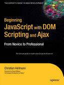 download ebook beginning javascript with dom scripting and ajax pdf epub