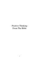 Positive Thinking Bible