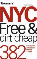 Frommer s NYC Free   Dirt Cheap