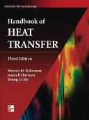Handbook of heat transfer