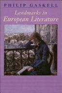 Landmarks in European Literature