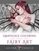 Fairy Art   Grayscale Coloring Edition
