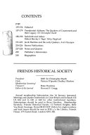 The Journal of the Friends  Historical Society