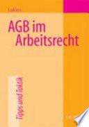 AGB im Arbeitsrecht