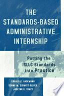 The Standards Based Administrative Internship