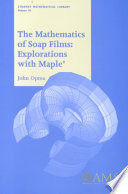 The Mathematics of Soap Films