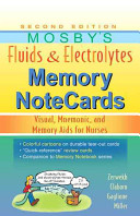 Mosby s Fluids and Electrolytes Memory NoteCards