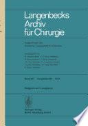Verhandlungen der Deutschen Gesellschaft für Chirurgie: Tagung vom 8. bis 11. Mai 1974
