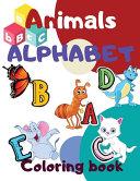 Animals Alphabet Coloring Book
