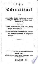 Schematismus der k.k. mähr. schles. Gesellschaft zur Beförderung des Ackerbaues, der Natur- u. Landeskunde