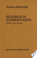 Readings in Interpretation
