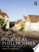 Proust As Philosopher book