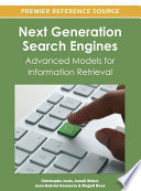 Next Generation Search Engines  Advanced Models for Information Retrieval