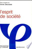 L'Esprit de société