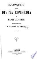 Il Concetto della Divina Commedia di Dante Alighieri. Dimostrazione