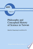 Philosophy and Conceptual History of Science in Taiwan