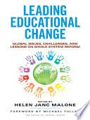 Leading Educational Change