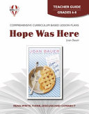 Hope Was Here Novel Units Teacher Guide