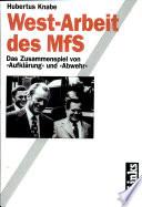 West-Arbeit des MfS