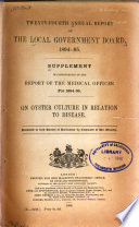 Report Of The Medical Officer