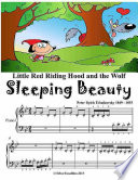 Little Red Riding Hood Sleeping Beauty and the Wolf   Beginner Piano Sheet Music Junior Edition
