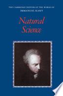 Kant  Natural Science