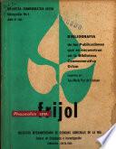 BIBLIOGRAFIA de las Publicaciones que se encuentran en la Biblioteca Conmemorative Orton