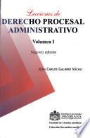 Lecciones de derecho procesal administrativo