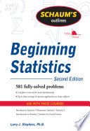 Schaum s Outline of Beginning Statistics  Second Edition