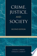 Crime Justice And Society book