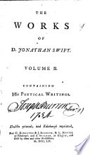 The Works of D  Jonathan Swift