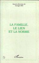 illustration La famille, le lien et la norme