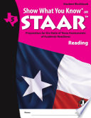 SWYK on STAAR Reading Gr  5  Student Workbook