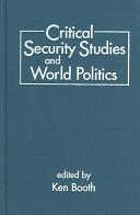 Critical Security Studies and World Politics