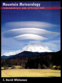 download ebook mountain meteorology pdf epub