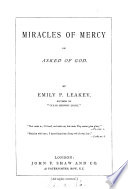 Miracles of mercy  or  Asked of God Book PDF