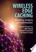 Wireless Edge Caching Book PDF