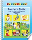 Kindergarten Teacher's Guide Vol 1 (US Edition) Reading Accurate Spelling And A Love