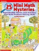 25 Mini Math Mysteries