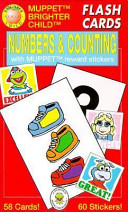 Numbers   Counting Flash Cards With Muppet Reward Stickers