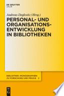 Personal- und Organisationsentwicklung in Bibliotheken