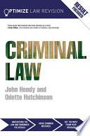 Optimize Criminal Law